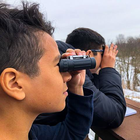Barnesville has a school-wide partnership with Black Hill Regional Park to enhance outdoor and environmental education across our curriculum. Every month, Park naturalists visit our campus to share their expertise with students in conjunction with class field trips to Black Hill.