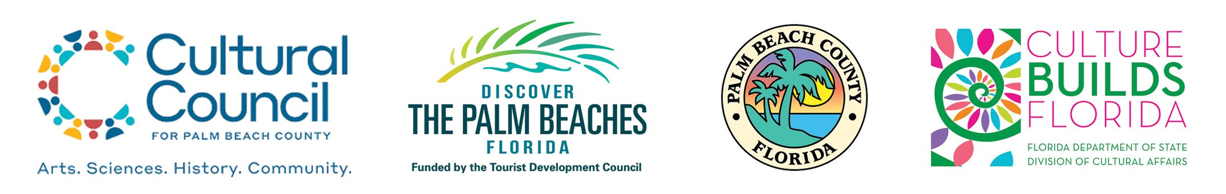 Sponsored in part by the Board of County Commissioners, the Tourist Development Council and the  Cultural Council of Palm Beach County.
