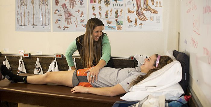 Tristy has been a certified athletic trainer since 2000 and has been with CVA since 2014. She previously worked as the Head of Sports Medicine at NCAA Division II Georgian Court University in Lakewood, NJ for seven years and as a certified chiropractic assistant therapeutic exercise specialist at HealthQuest for eight years. She earned her Bachelor