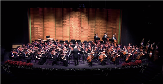 "Punahou Symphony Performs ""Swell Lines"""