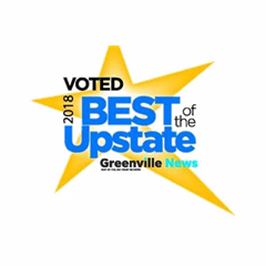 Voted 2018 Best of the Upstate