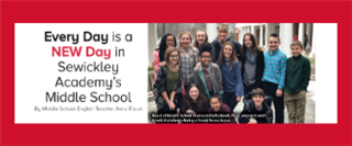 Every Day is a NEW Day in Sewickley Academy's Middle School